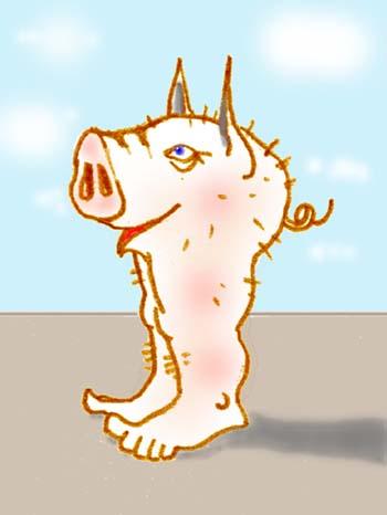 Свинья:-)